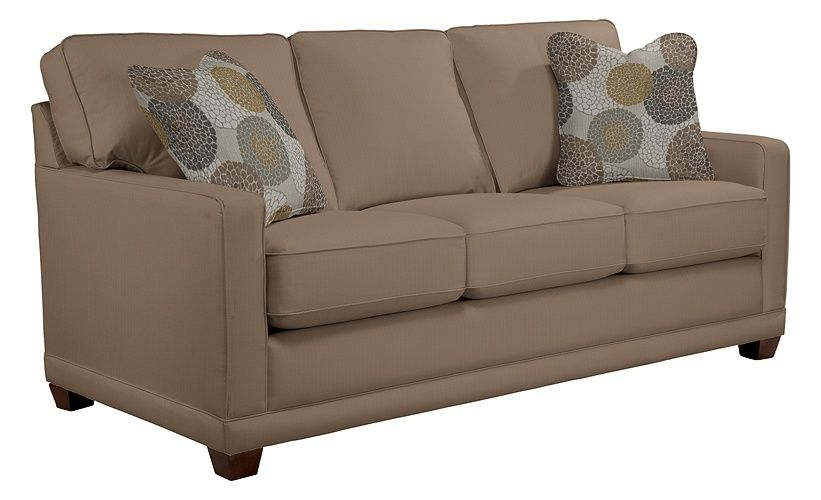 Lazy boy kennedy sofa in acorn home apartment size sofa sofa furniture - Apartment size living room furniture ...