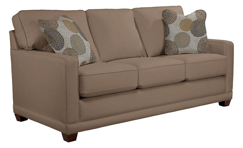 lazy boy kennedy sofa in acorn
