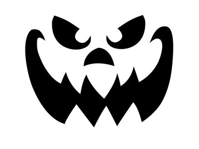 Jack O Lantern Patterns Scary Pumpkin Faces Pumpkin Face Templates Pumpkin Carving Templates