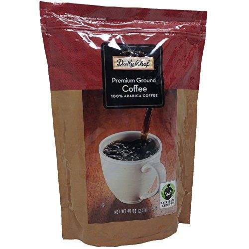Daily Chef Premium Ground Coffee 40 Oz Click Image For More Details This Is An Affiliate Link And I Receive A Commiss Coffee Grounds Coffee Arabic Coffee