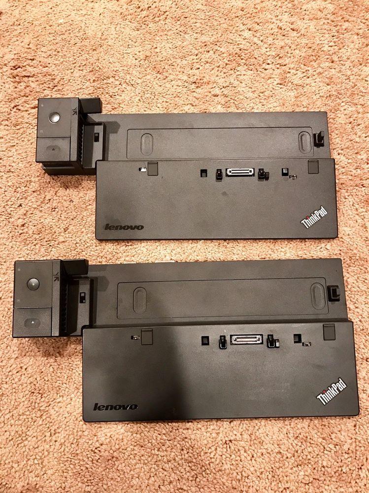 2x Lenovo Thinkpad Pro Docking Station 40A1 Unlocked T440
