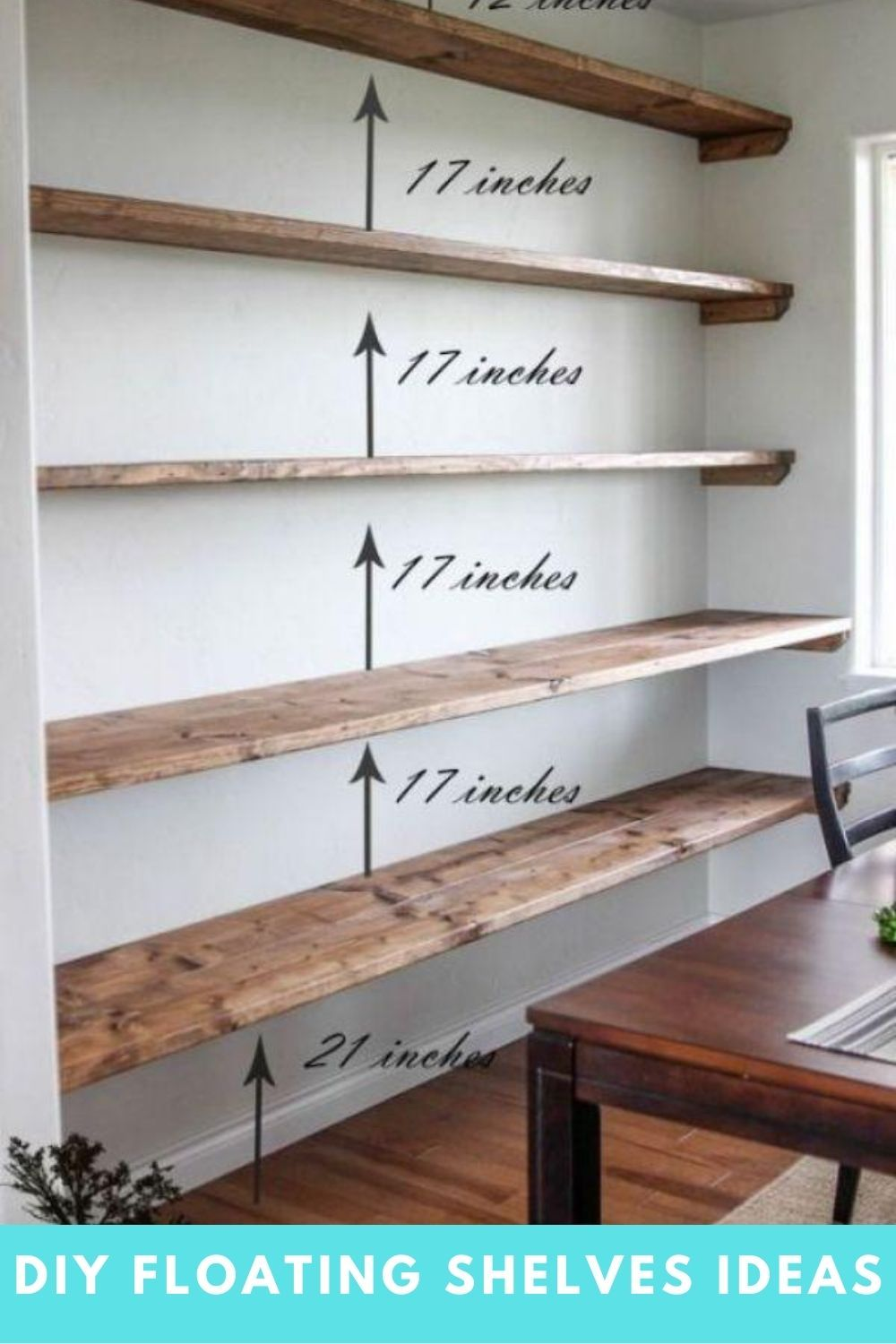 Pin On Diy Floating Shelves Ideas