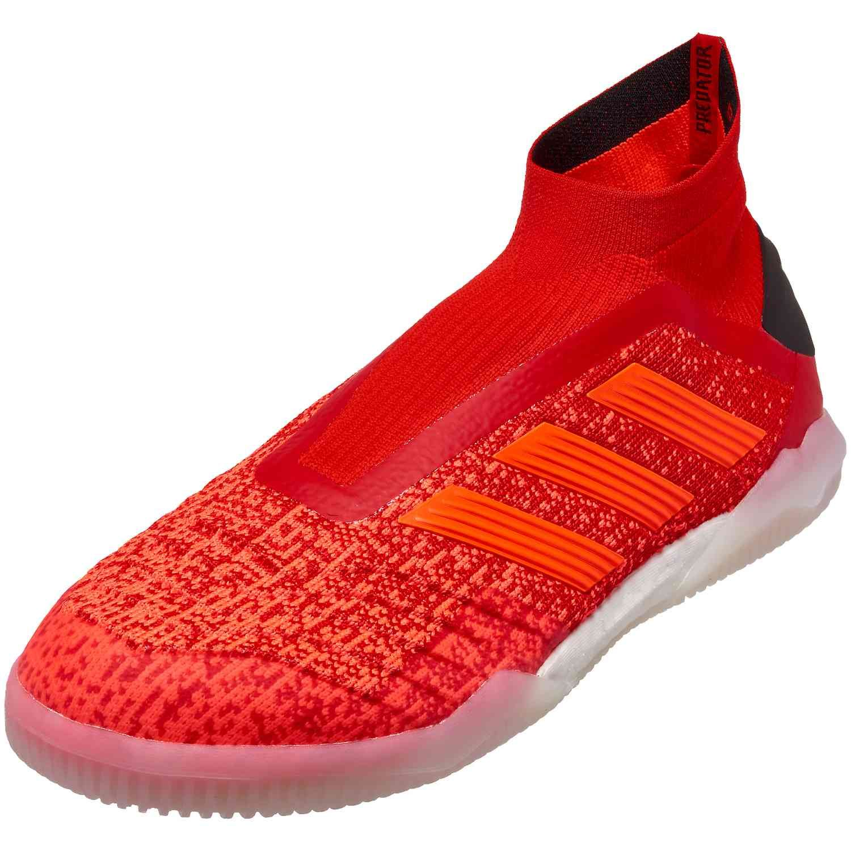 7e563f391d9 The beautiful adidas Predator Tango 19+ indoor soccer shoes are hot at  soccerpro.com!