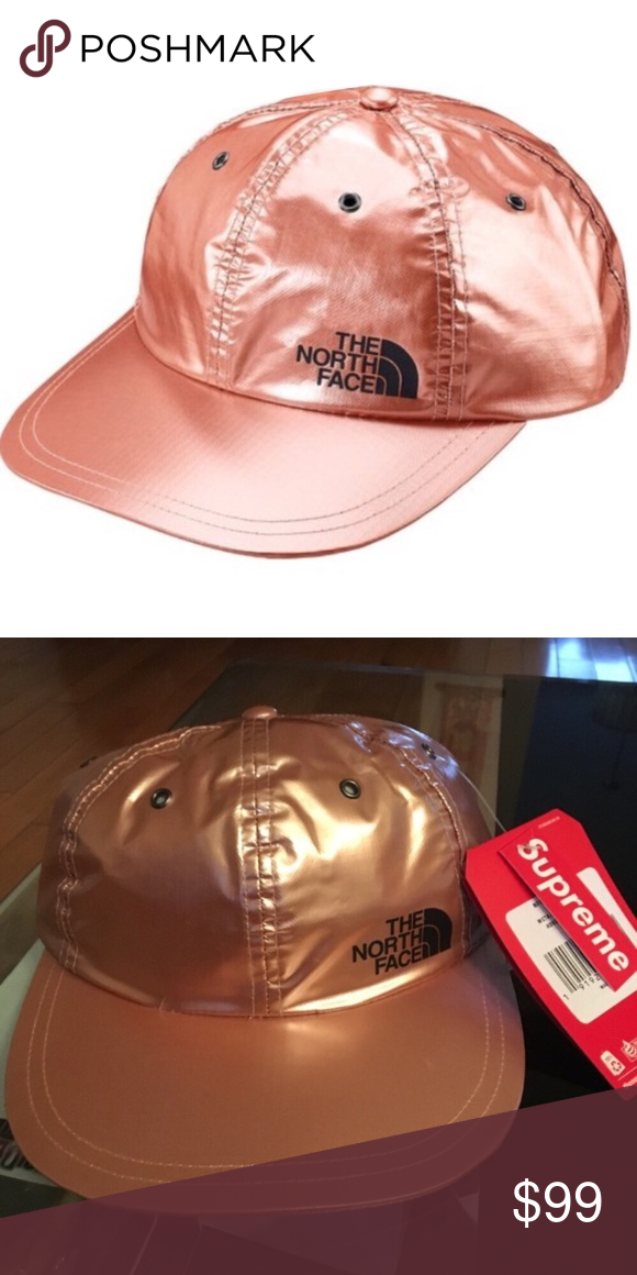 a8c78e123 Supreme x North Face Rose Gold 6 Panel Hat. Brand new. 100% Authenic ...