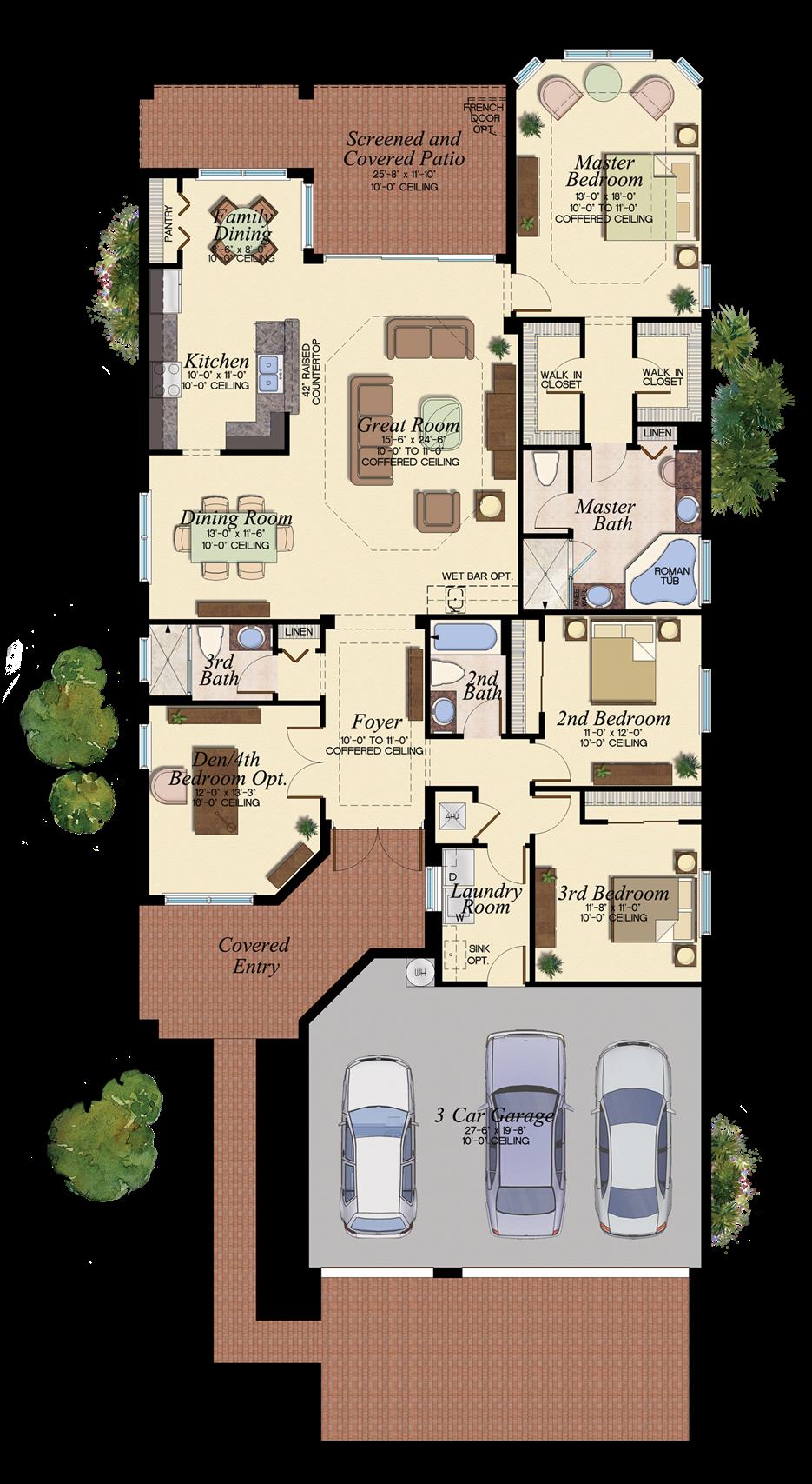 Cabernet 503 Floor Plan New House Plans Pinterest Casa Terrea Casa Com Garagem And Planta
