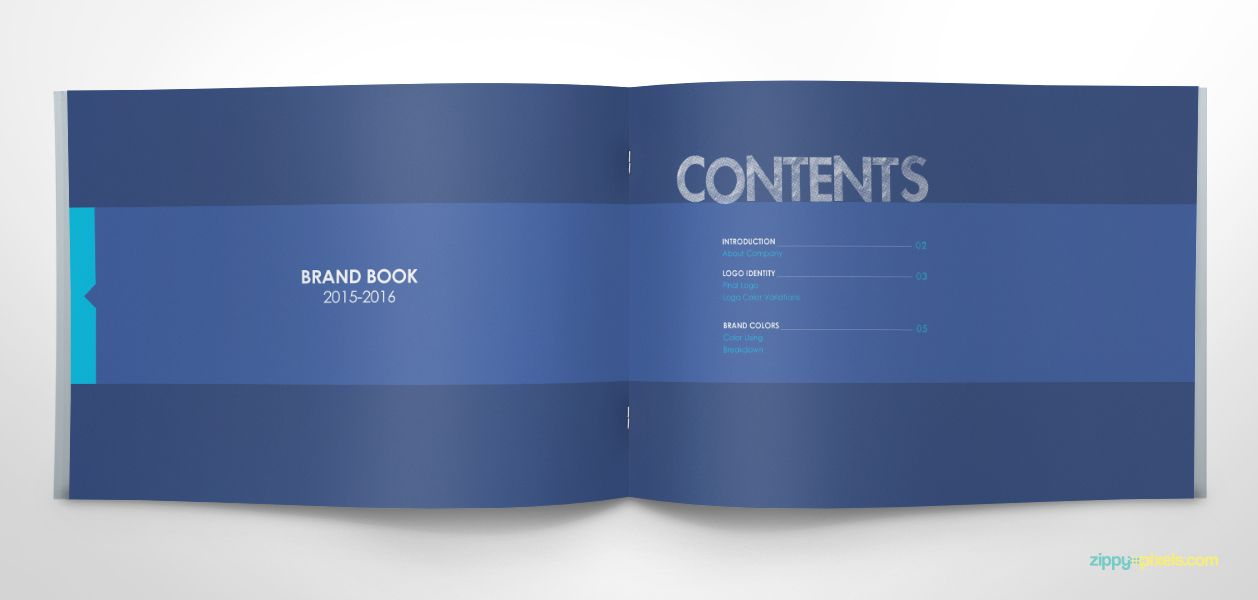 Pin On Brand Book Templates