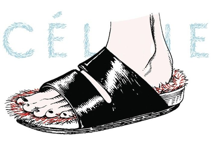 The Céline Furry Shoe