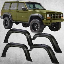 For 84 01 Jeep Cherokee Xj 4 Door Pocket Rivet Off Road Wheel Wide
