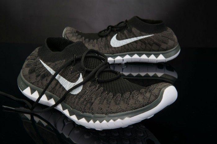 on sale db438 694b2 Nike Free 3.0 Flyknit Black White-Midnight Fog (4)