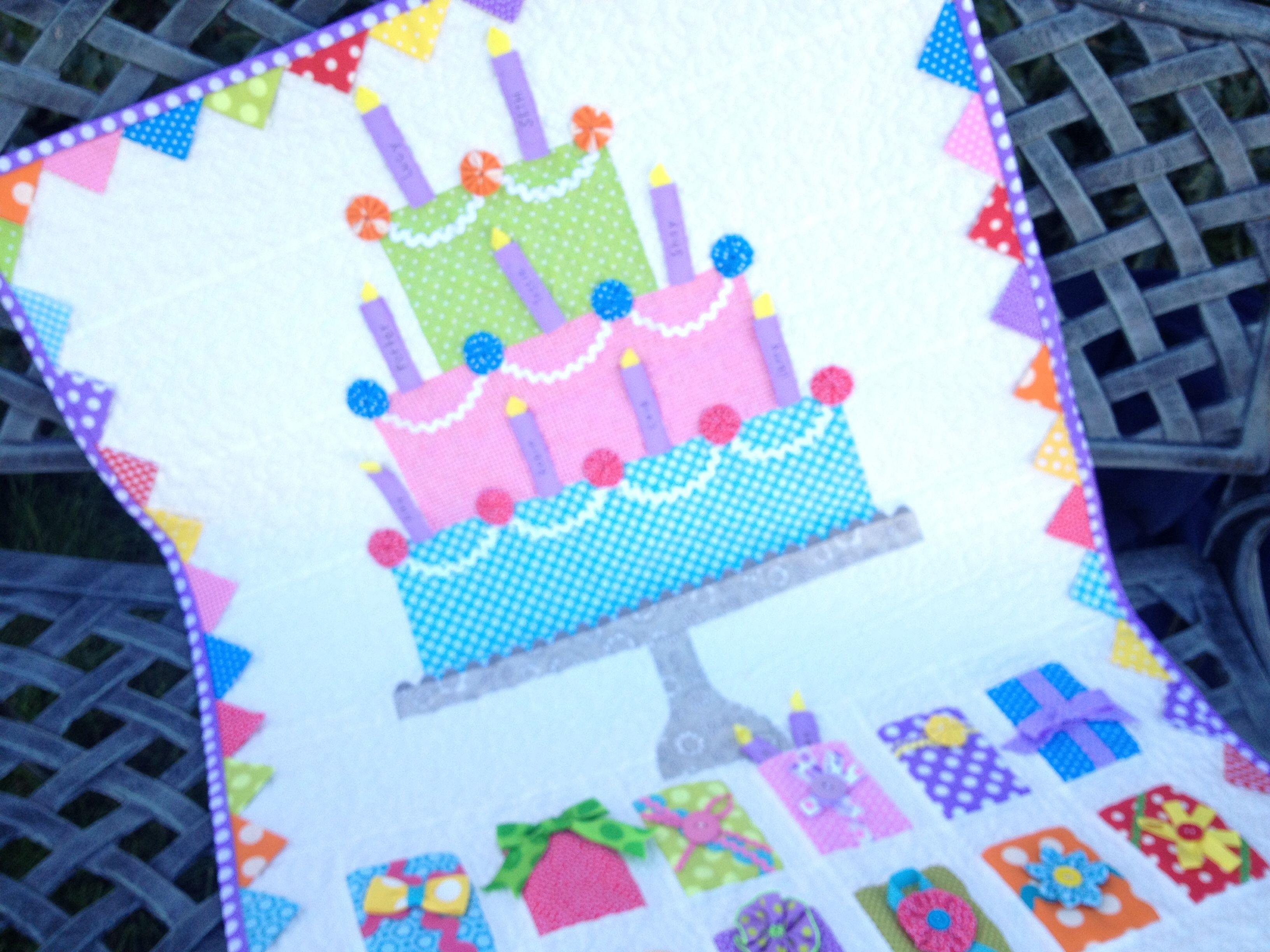 Happy birthday under the garden moon pinterest happy birthday birthday and scrappy quilts for Under the garden moon
