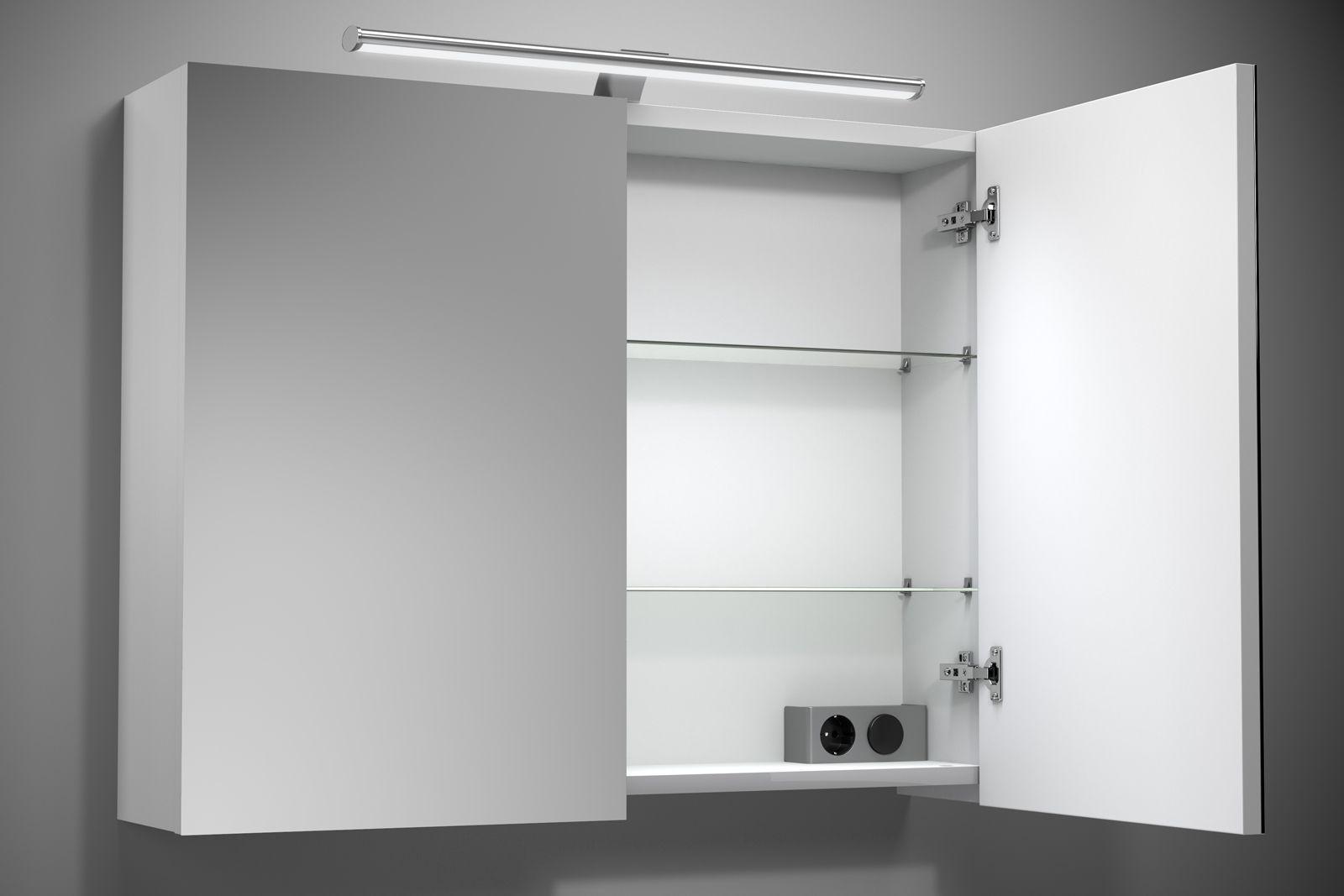 das badezimmer lampe spiegelschrank tipps zum dekorieren