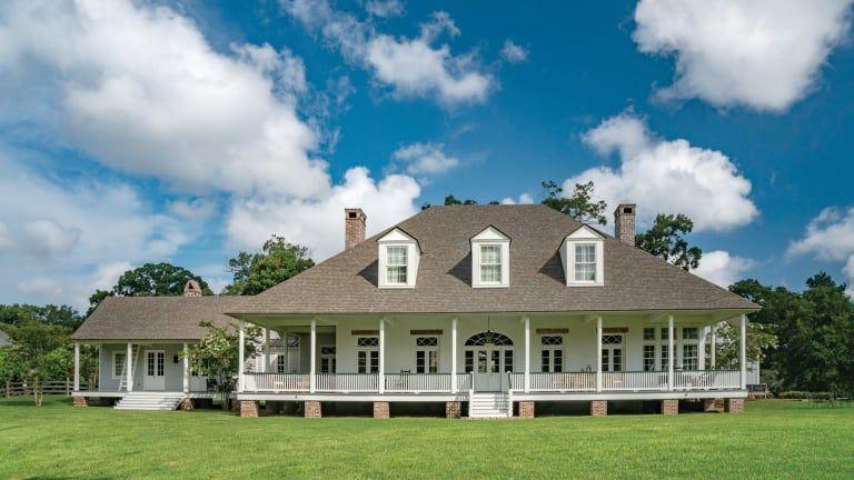 A Traditional Farmhouse in Louisiana