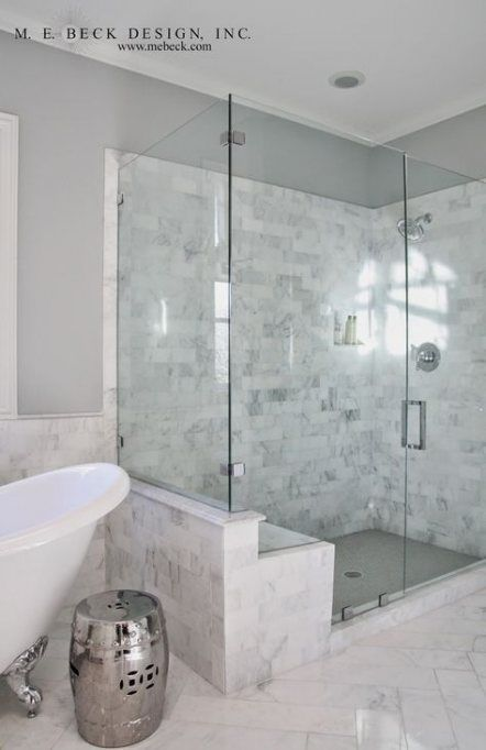 55 Ideas Bathroom Shower Bench Carrara Marble 55 Ideas Bathroom Shower Bench Carrara Marble Bathroom In 2020 With Images