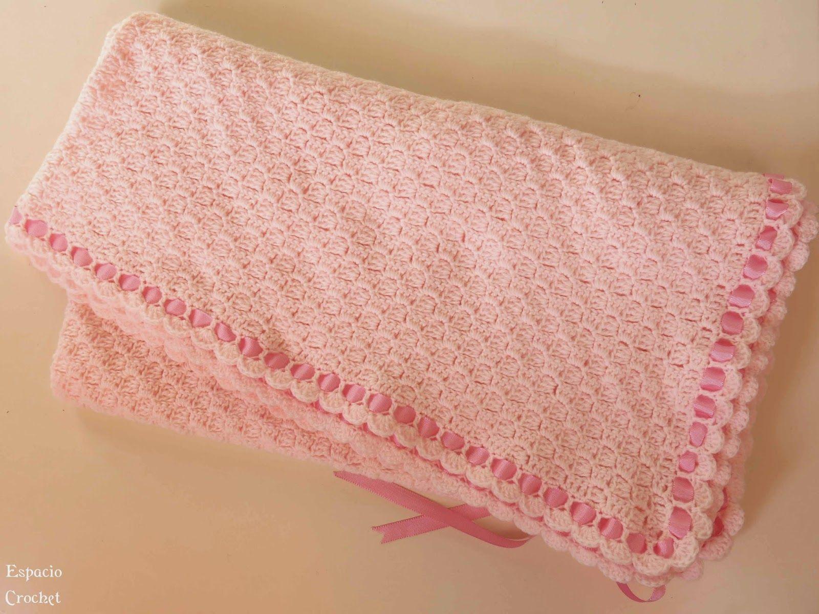 Espacio Crochet: patrones | Crochet Baby | Pinterest | Mantas para ...