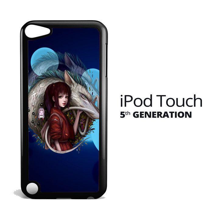 Spirited Away Cartoon Z2590 iPod Touch 5 Case