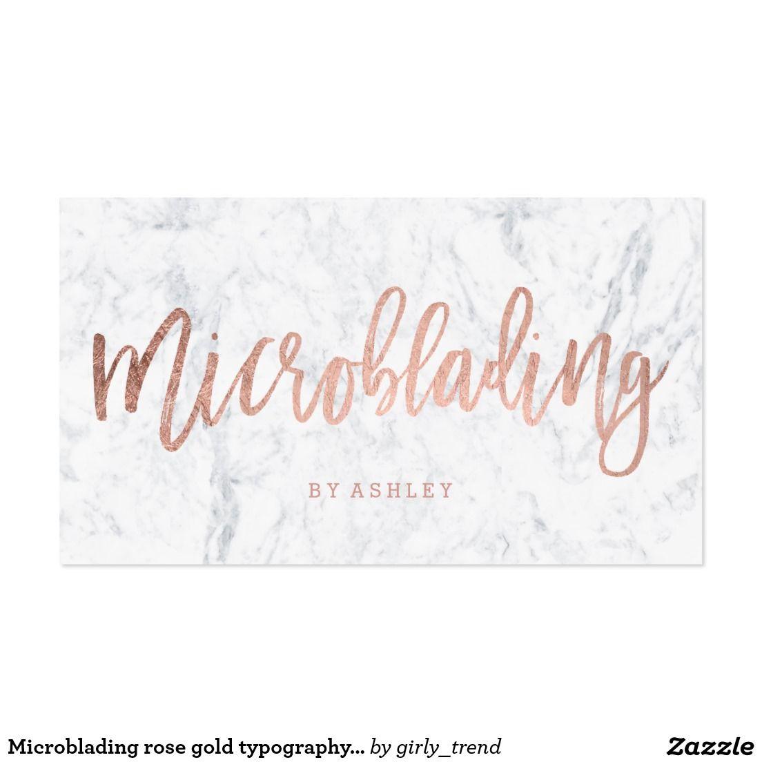 Create your own Profile Card   Zazzle com   Microblading