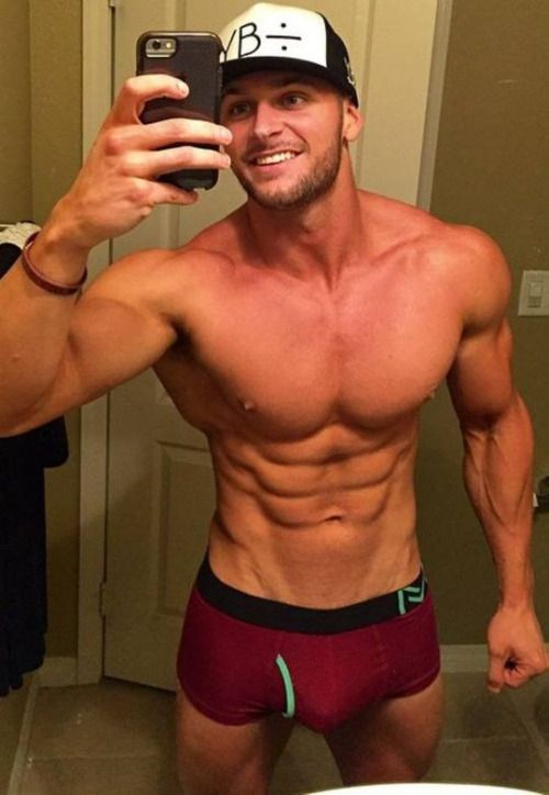 Sexy Muscle Guy Selfie In His Underwear  Sexy Men With -1758