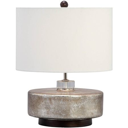 Aspire Home Accents 4738 Claire 1 Light 26 1 2 Inch Tall Table Lamp With Silver Silver Lamps Table Lamps Table Lamp Tall Table Lamps Modern Lamp Design