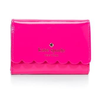 Kate Spade New York Patent Darla Wallet - Radish/Mahogany