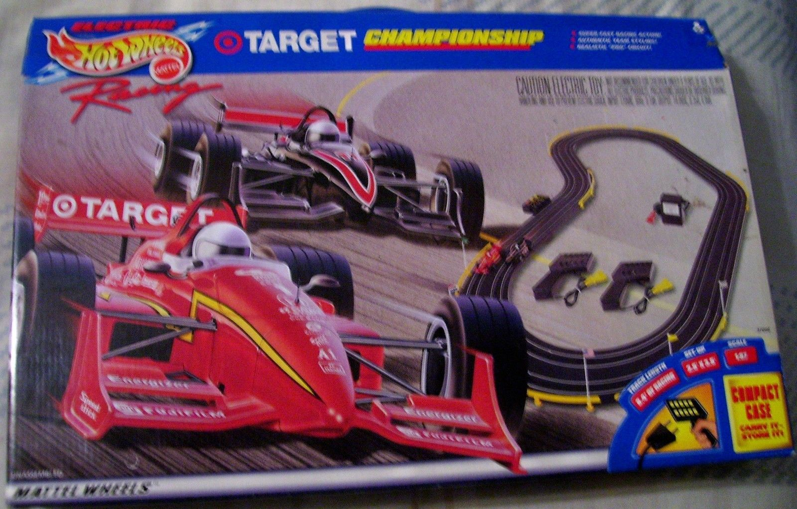 Tyco Mattel Hot Wheels Target Electric Racing T Jet Afx Style H O Slot Car Set
