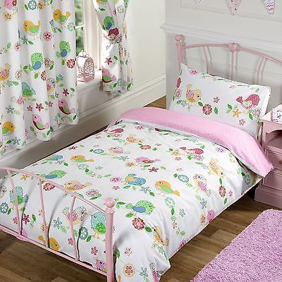 TWEET TWEET VÖGEL 4 IN 1 JUNIOR COT BETT BEDDING BÜNDEL