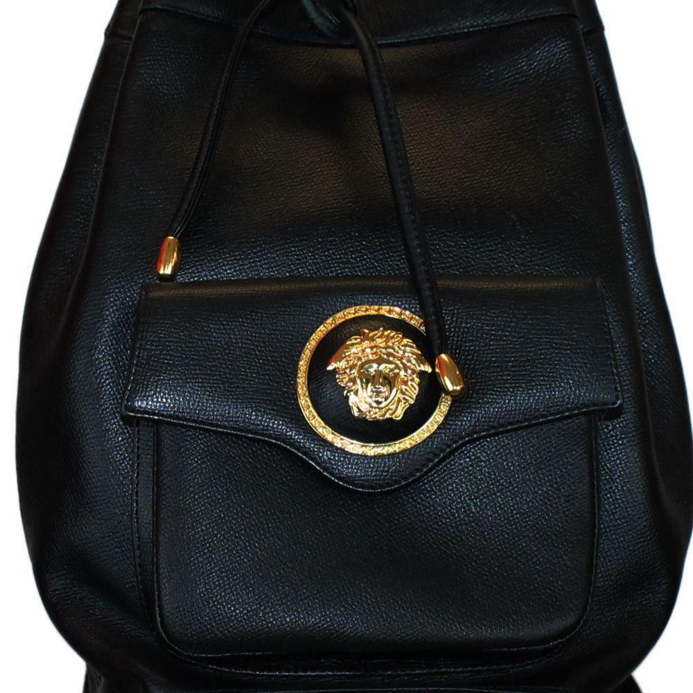 330f2abaf6 Versace Backpack | Vintage Gianni Versace Gold Backpack Bag | Guaranteed  authentic pre .