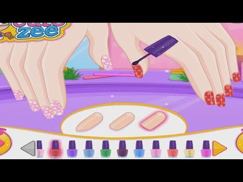 Barbie Prom Nails Designer Barbie Nails Art Game Http47beauty