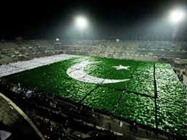 World Largest Human Flag