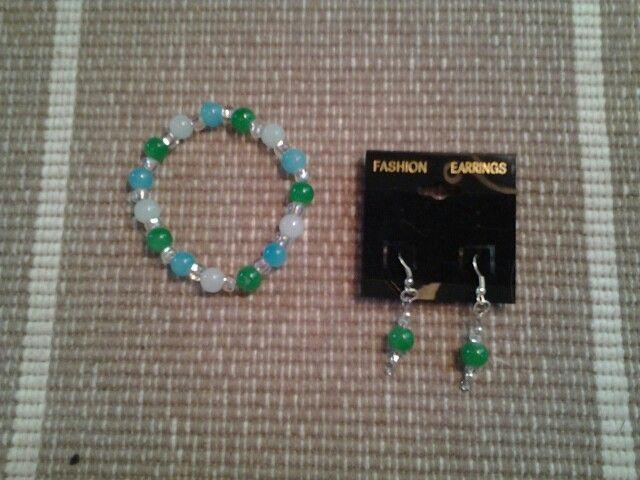 Blue/Green set!