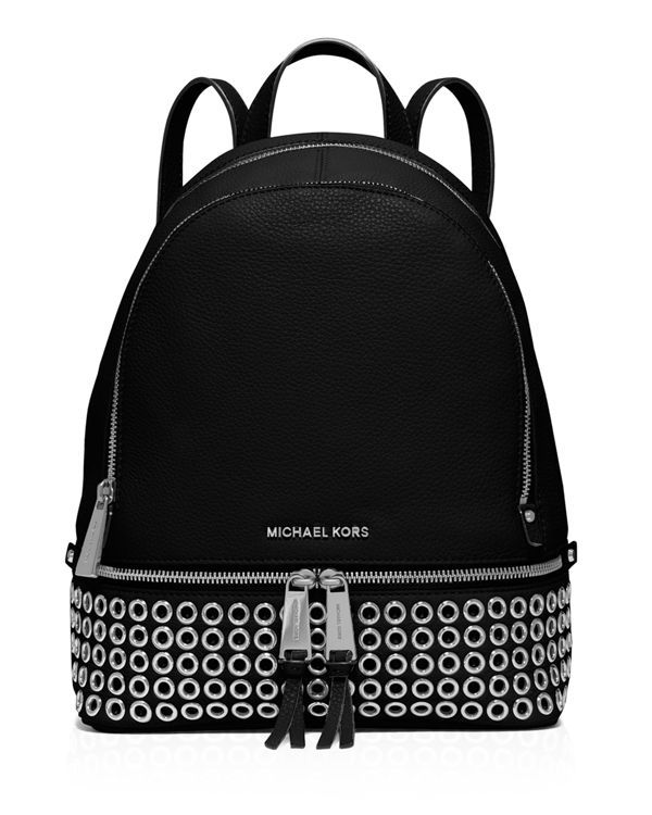 7997adb07b17 Michael Michael Kors Medium Rhea Zip Grommet Backpack | Random Shit ...