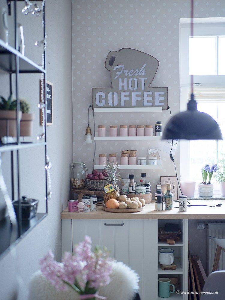 DEKOSAMSTAG - Lampenprobleme in der Küche, Frühling auf dem Esstisch ...