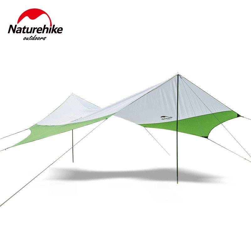 Waterproof Tarp Outdoor Sun Shelter Sunshade Canopy Camping Beach Tent Tarp