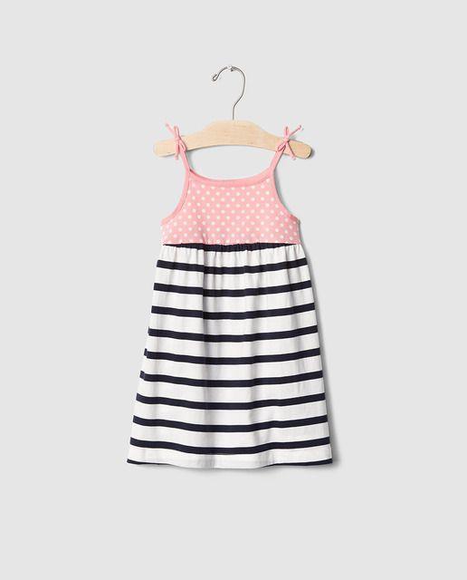 a3c210181b0 Vestido de niña Gap combinado
