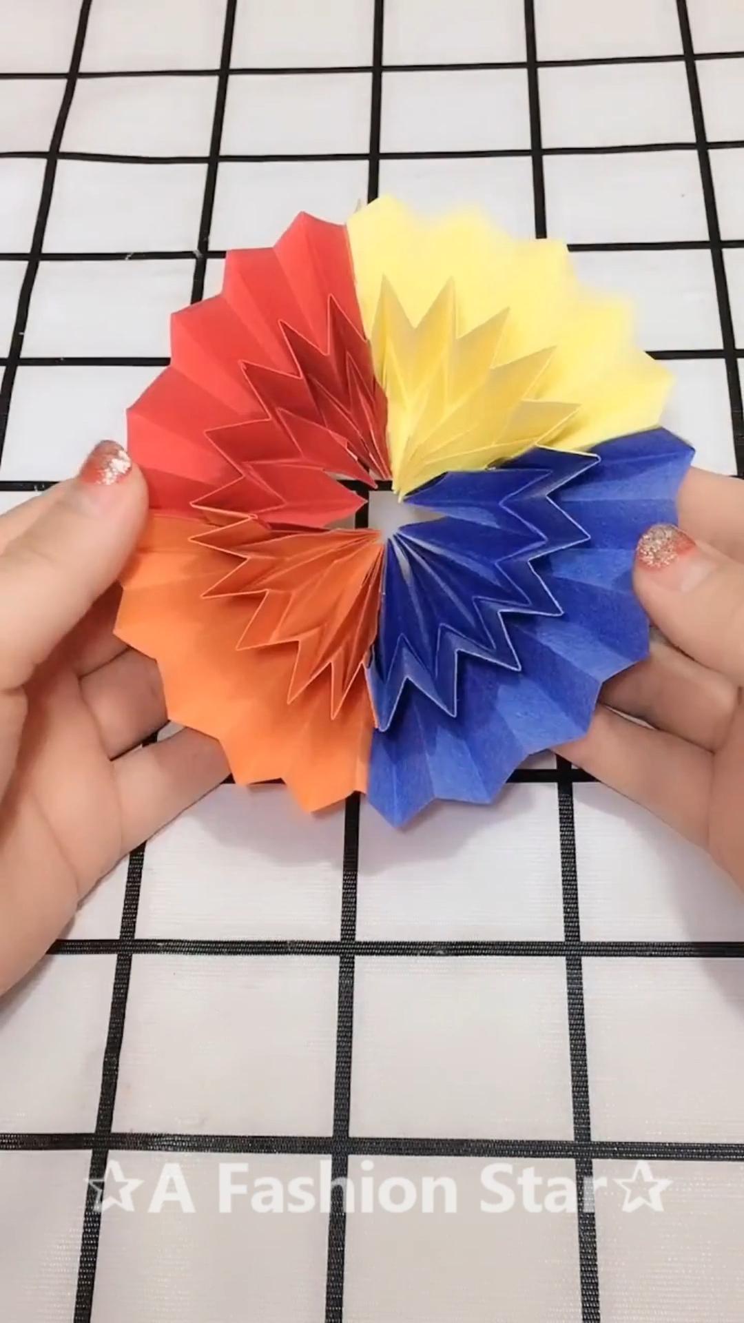 Origami Diy A Fashion Star Video Paper Crafts Origami Origami Crafts Paper Crafts Diy