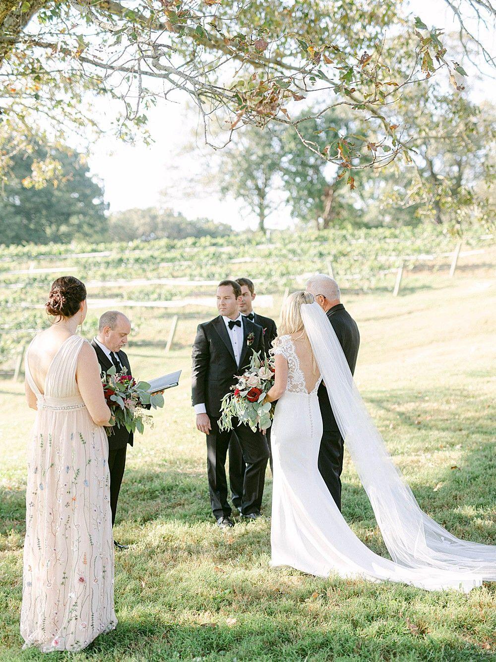 Blush And Merlot Wedding At Montaluce Winery In 2020 Merlot Wedding Winery Weddings North Georgia Wedding