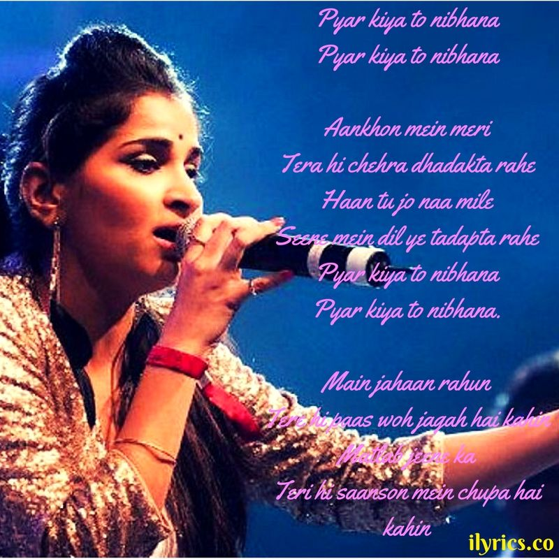 Kehta Hai Pal Pal Lyrics By Shruti Pathak - | Latest Songs | Pinterest