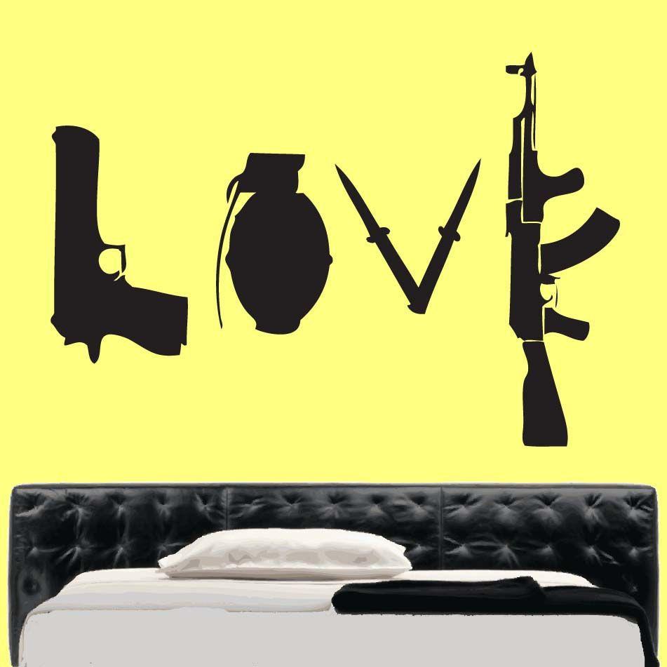 Banksy Vinyl Wall Art » _Shop » Home | Banksy Wall Art | Pinterest ...