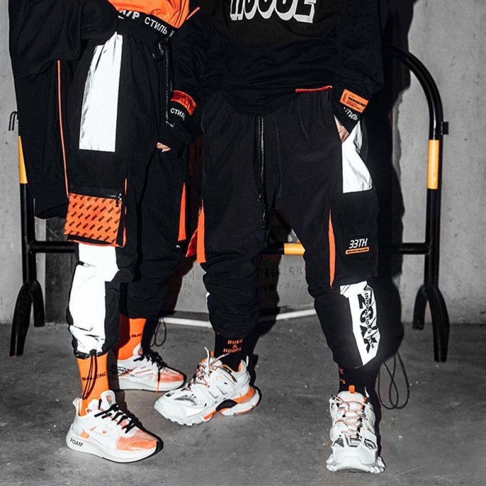 Men/'s Off White Graffiti  Pockets Stretchy Cotton Sports Hip-hop Shorts,white