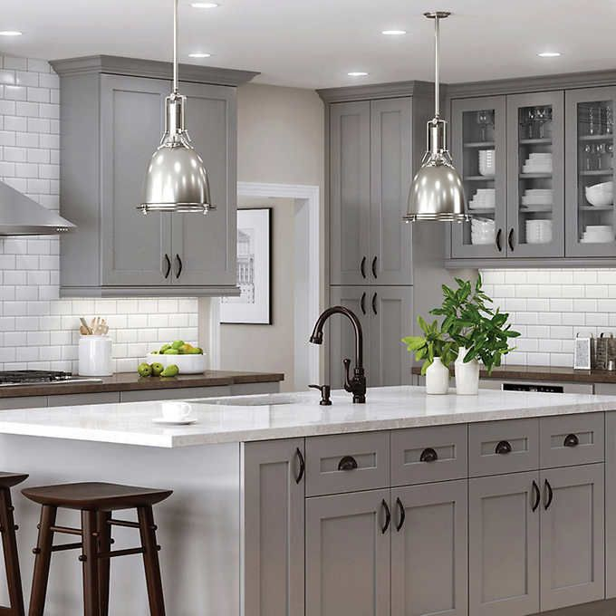 Semi-Custom Kitchen and Bath Cabinets by All Wood Cabinetry Ships in 7-10 days