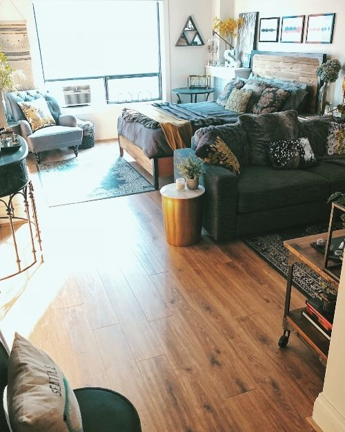 Before & After: My Studio Apartment in Downtown Seattle