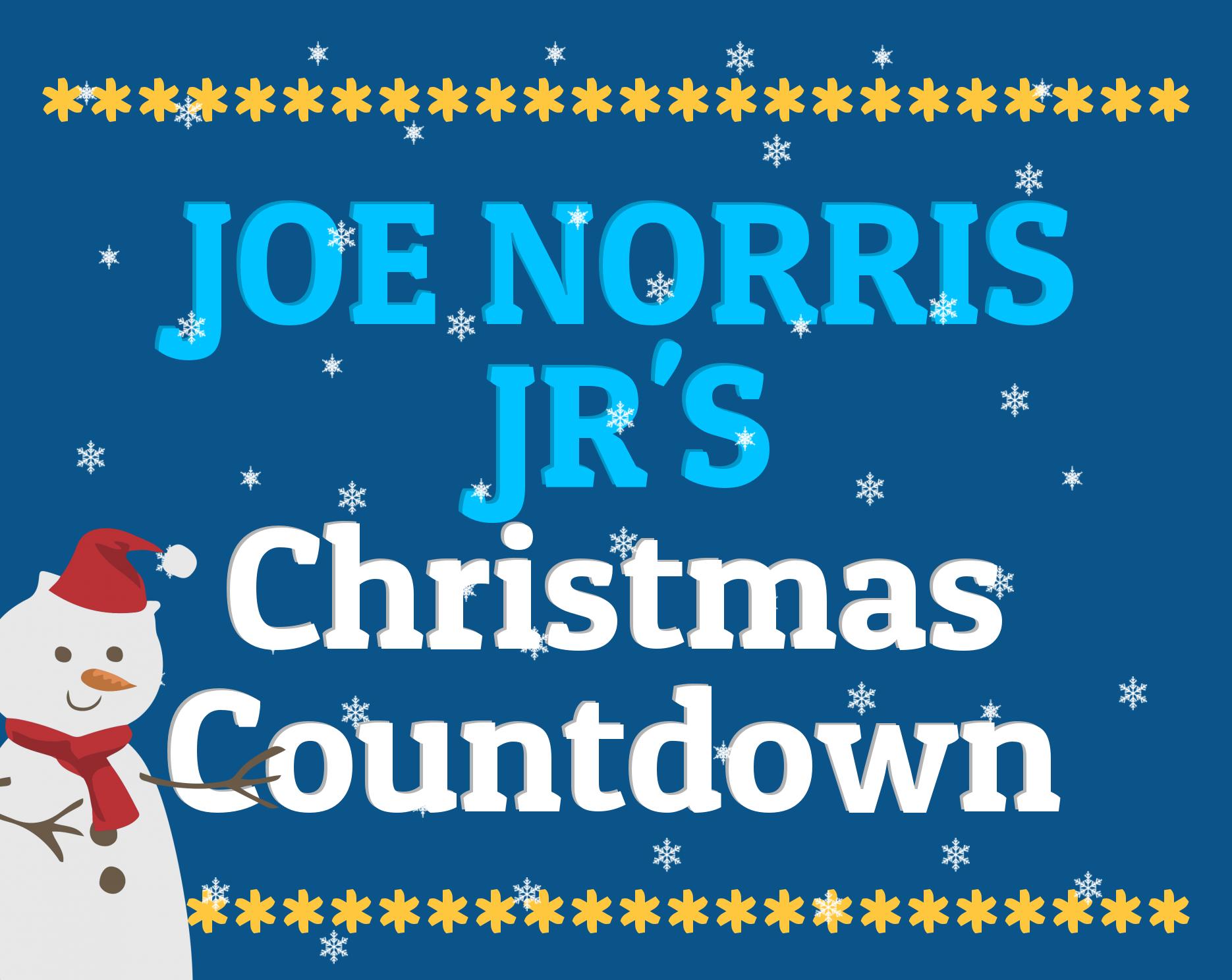 christmas countdown 2017 joe norris jr how many days till christmas 2017 - How Many Days Left For Christmas