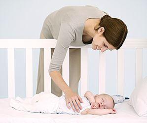 Miten saada lapsi nukahtamaan itsekseen?