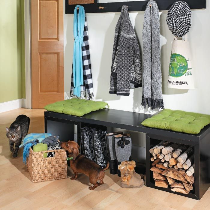 Assemble A Custom Storage Cube Bench | My Home My Style ENotes