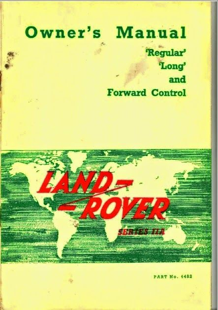 land rover lover manual del propietario land rover series iia rh pinterest com 1985 Land Rover Defender 2018 Land Rover Defender