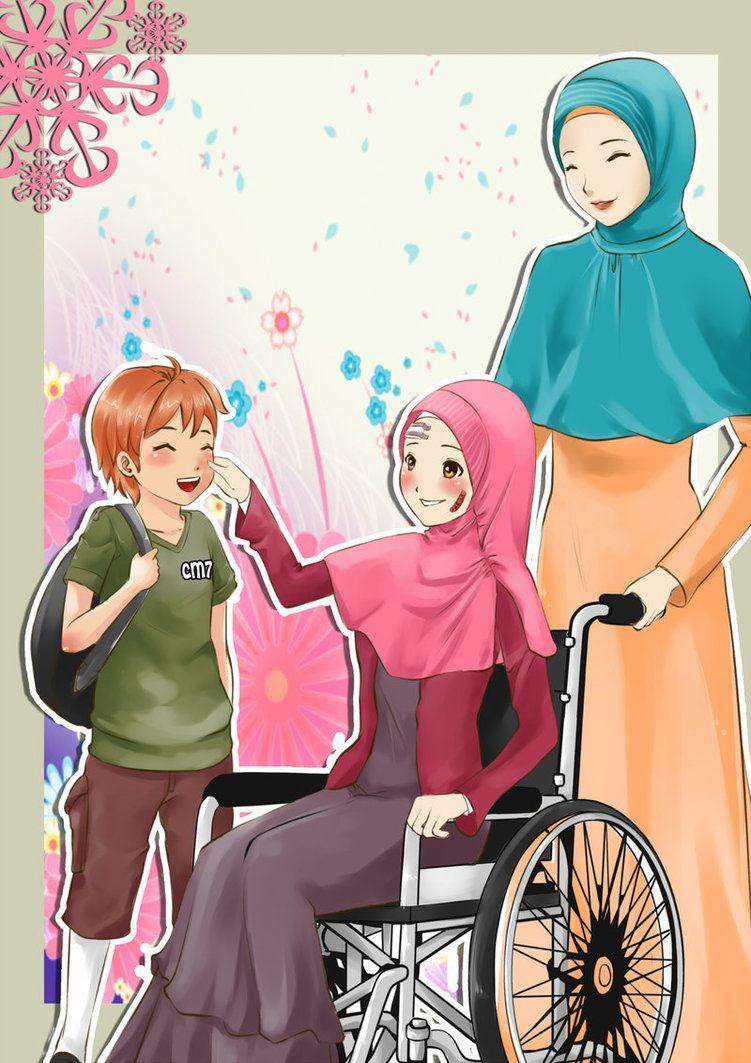 Anime Manga Hijab Art Anime Muslim Anime Anime Drawings