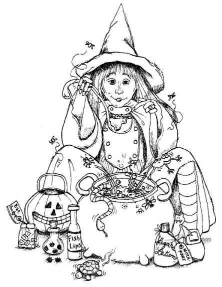 Peddlers Pack Products Halloween Coloring Pages Halloween Coloring Halloween Patterns