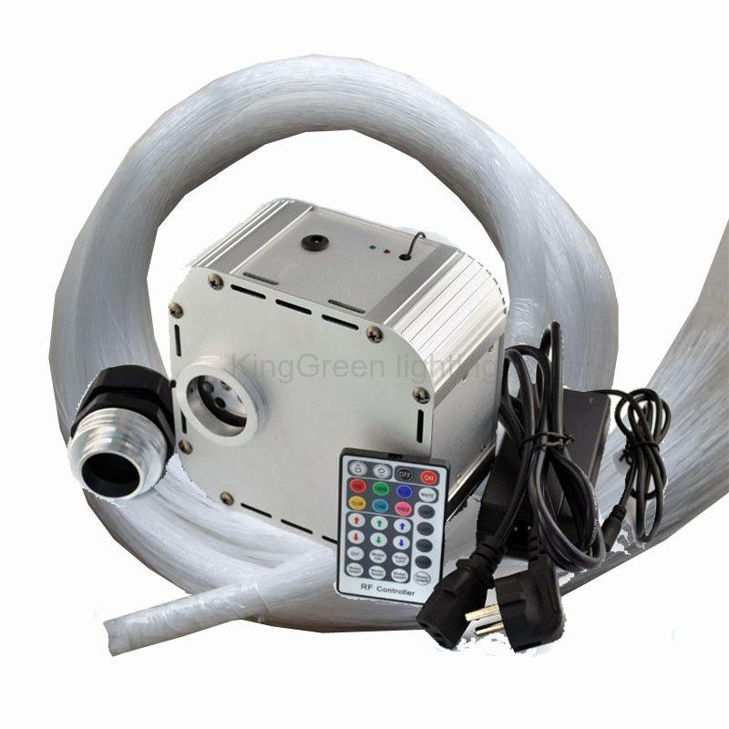 32W 12V input RGB color LED fiber optic light engine + 28 key RF controller +  sc 1 st  Pinterest & 32W 12V input RGB color LED fiber optic light engine + 28 key RF ...