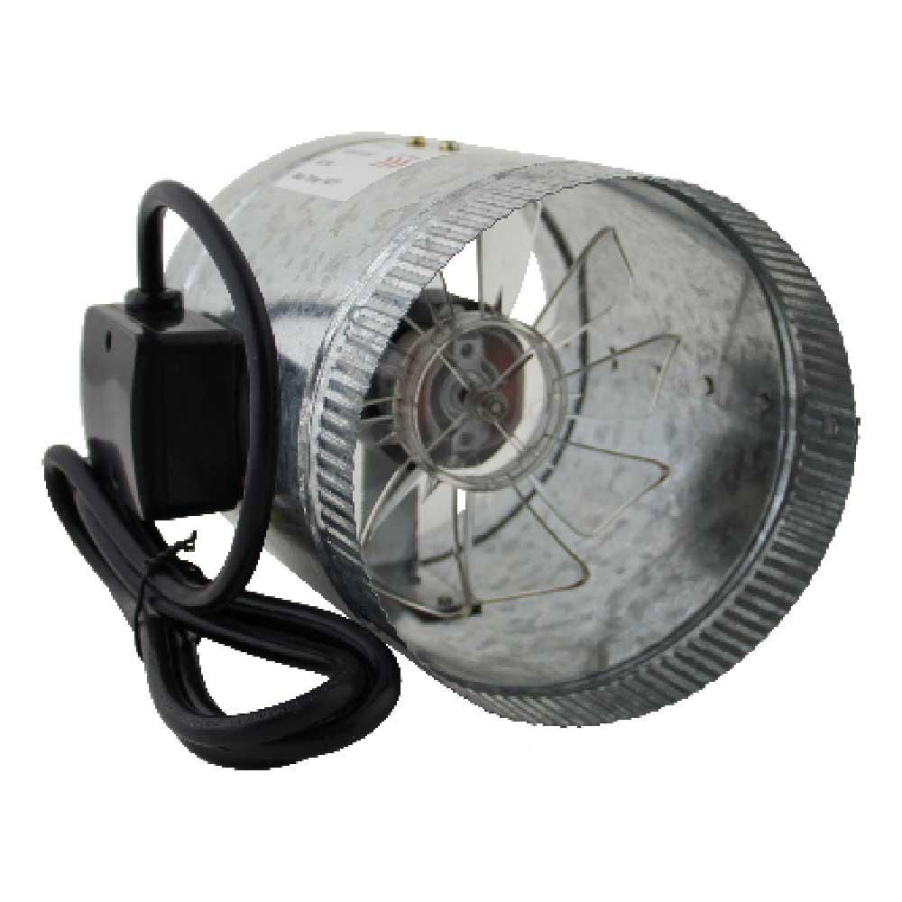 Spruce Homeaire 6 In Inline Duct Boost Fan 28532 The Home Depot In 2021 Fan Duct Heating And Cooling