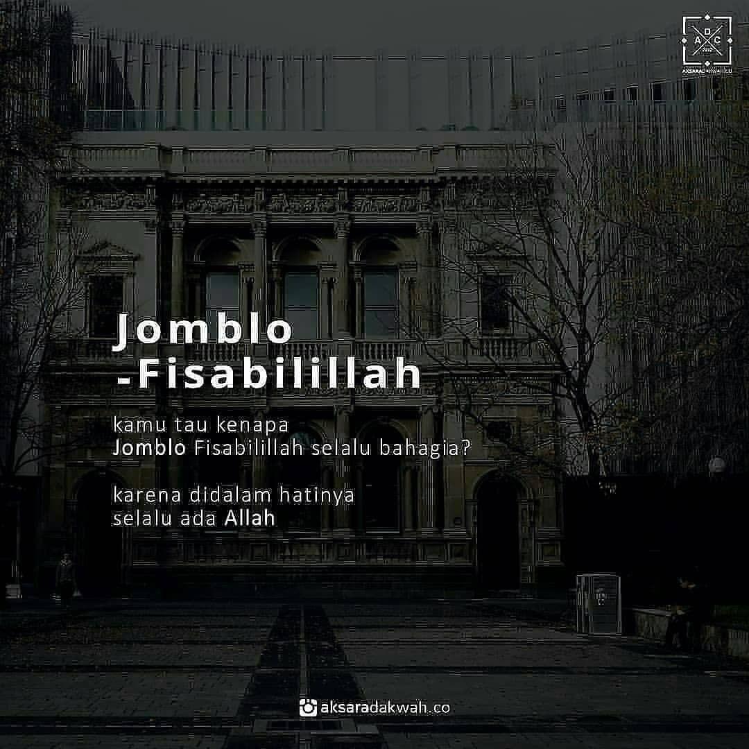Jojoba Fisabilillah Di Instagram Jomblo Fiisabilillah Tag Sahabat