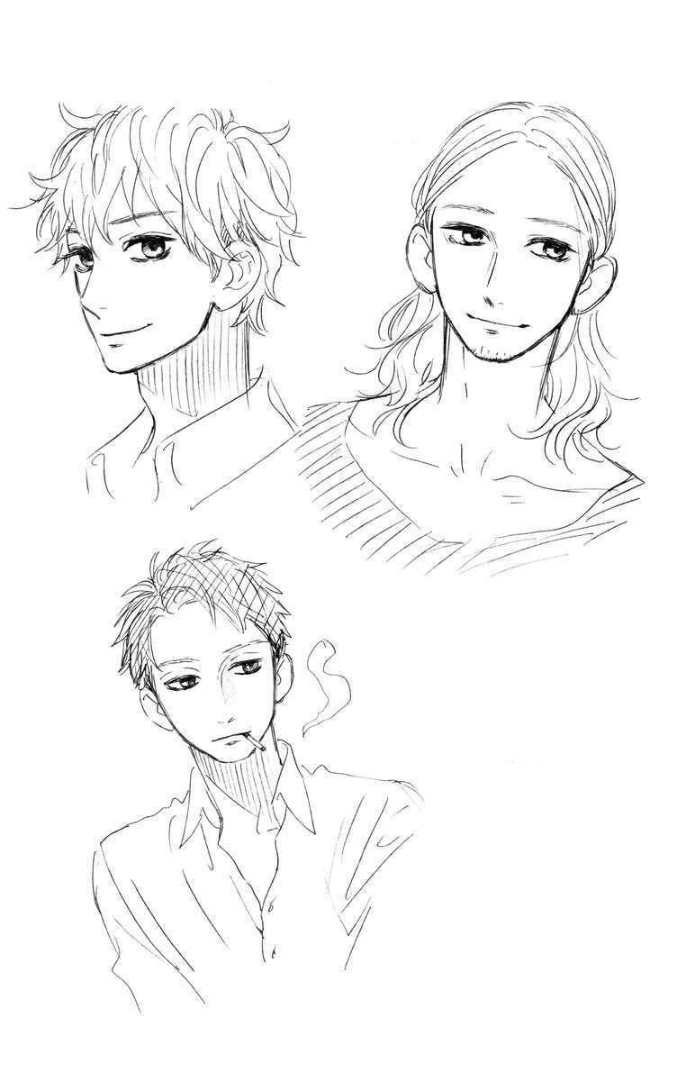 Sugars sketches by Yamamori Mika